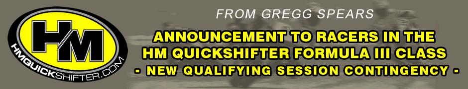 F III Qualifying Contingency